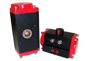Máquina seladora rotativa pneumática