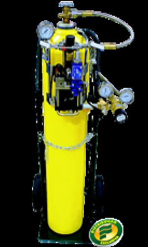 Booster para recarga e transferência de gases