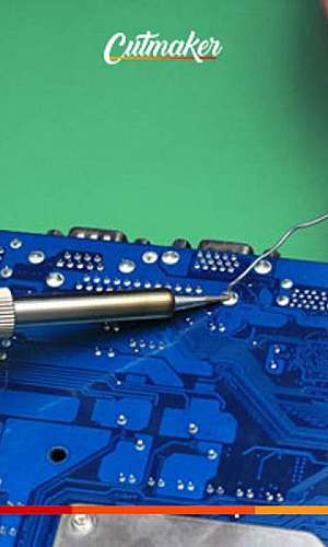 Conserto maquina laser