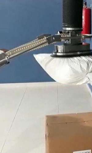 Distribuidor de manipulador de sacos