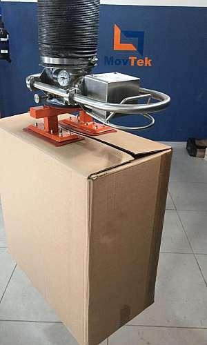 Indústria de manipulador para caixas
