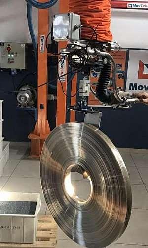Manipulador de bobinas