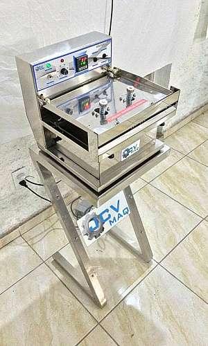 Máquina seladora de pedal