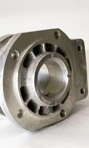 Produção de peças em aço