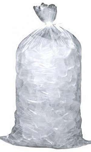 Saco plastico para gelo 20 kg