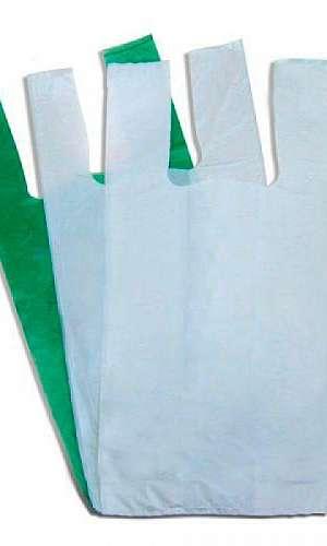 Sacos sacolas plásticas